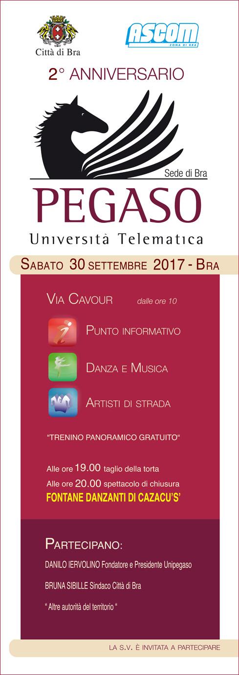 2° Anniversario Università Pegaso di Bra - 30 Settembre 2017