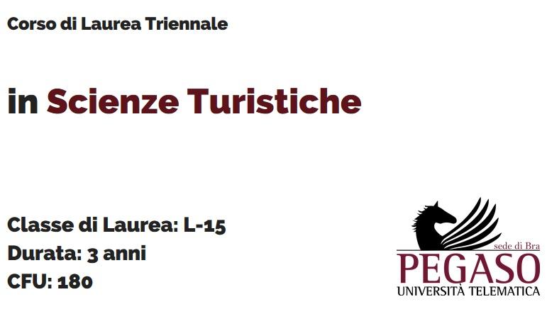 Corso di Laurea Triennale in Scienze Turistiche L 15 - Unipegaso