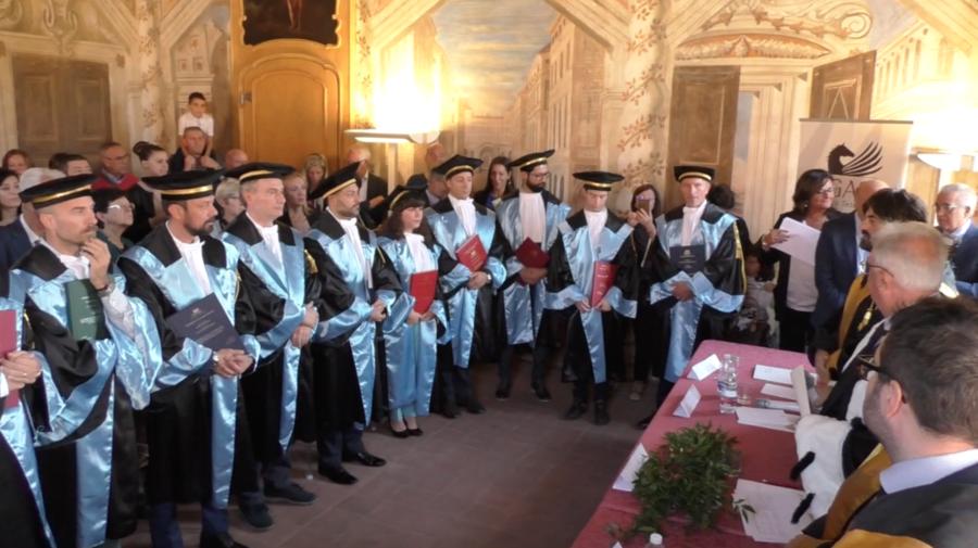 Primi laureati per l'università telematica Pegaso di Bra