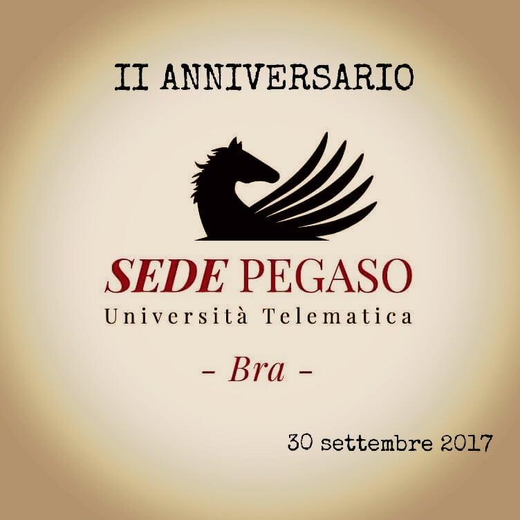 2° anniversario Università Pegaso di Bra: grande evento in programma il 30 settembre 2017
