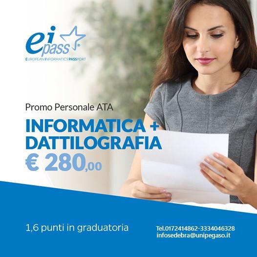 Promo Personale ATA Informatica e Dattilografia